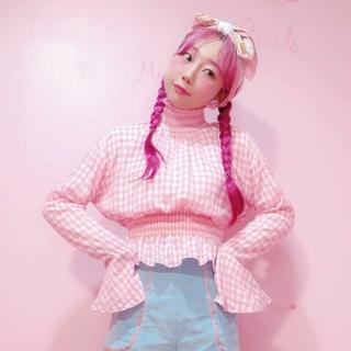 Honey mi Honey - ☆30分だけ最安値☆ 一度2時間のみ着用 ギンガムトップス