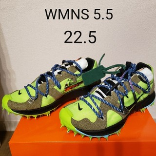ナイキ(NIKE)のNIKE Off-White ZOOM TERRA KIGER 5(スニーカー)
