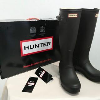 HUNTER - 【HUNTER】ハンター W23499 CHOCOLATE レインブーツ