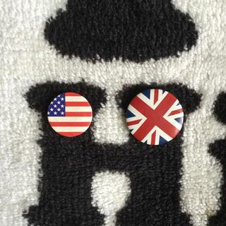 国旗 バッジ
