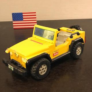Lego - レゴ LEGO jeep ジープ  イエロー ブロック 玩具 知育
