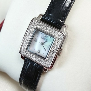 アビステ(ABISTE)のABISTE アビステ シェル ラインストーン 腕時計(腕時計)