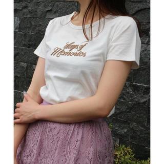 デイシー(deicy)のデイシー  今季♡♡days of memories Tシャツ オフホワイト♡(Tシャツ(半袖/袖なし))