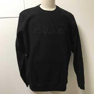 NOAH NYC(ノア) 17FW Pocket Crewneck 黒S(スウェット)