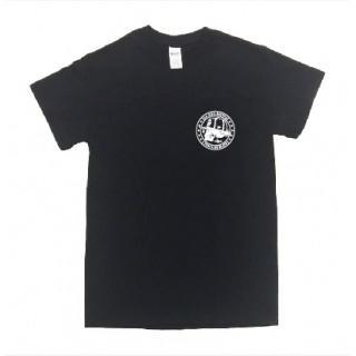 ドクロ LA イラスト ロゴ 半袖 Tシャツ git38-3(Tシャツ/カットソー(半袖/袖なし))
