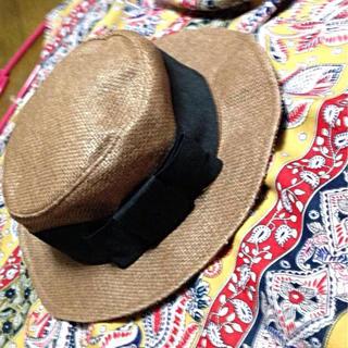 ジエンポリアム(THE EMPORIUM)の★新品★カンカン帽★(麦わら帽子/ストローハット)
