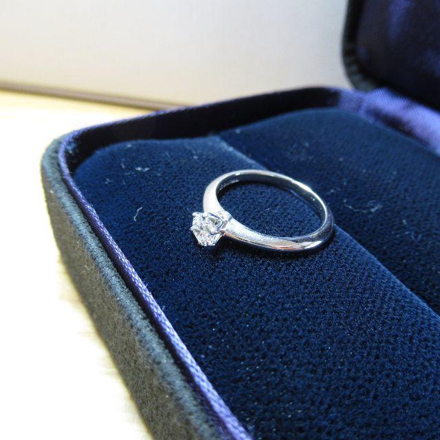 Tiffany & Co.(ティファニー)のティファニー 天然ダイヤモンドリング 0.27cts レディースのアクセサリー(リング(指輪))の商品写真