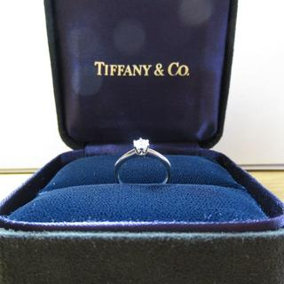 ティファニー(Tiffany & Co.)のティファニー 天然ダイヤモンドリング 0.27cts(リング(指輪))