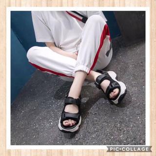 ザラ(ZARA)の【2019‼️超人気‼️厚底スニーカーサンダル‼️送料無料‼️】(サンダル)