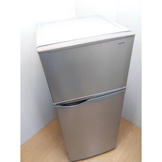 シャープ(SHARP)の【本州送料込み】冷蔵庫 2ドア 118L 高さ116cm(冷蔵庫)