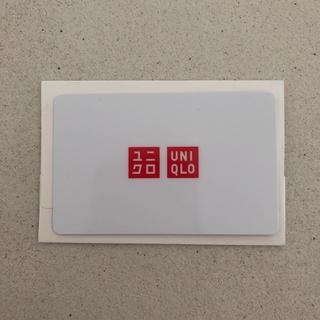 ユニクロ(UNIQLO)のユニクロギフト券 3000円分(ショッピング)