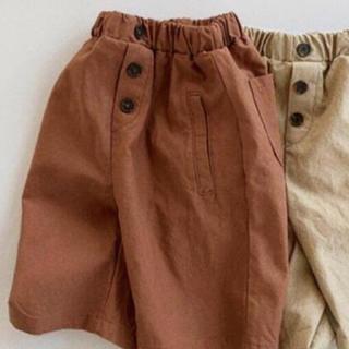 ハーフパンツはんぱ丈パンツ 韓国子供服 韓国こども服 海外子供服