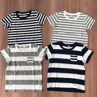 ムジルシリョウヒン(MUJI (無印良品))の無印良品 Tシャツ 新品未使用 4枚セット(Tシャツ/カットソー)