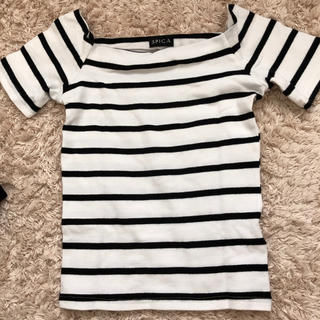 スピーガ(SPIGA)のボーダートップス(Tシャツ(半袖/袖なし))
