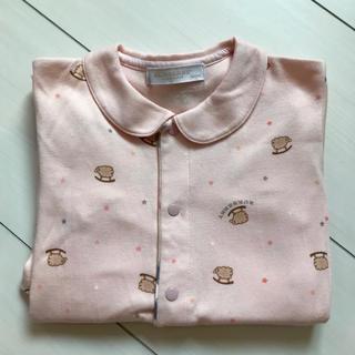 BURBERRY - バーバリー ロンパース 80 ピンク 女の子