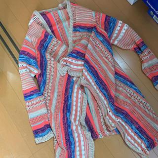 ザラキッズ(ZARA KIDS)のzara girls  サマーニットガウン 水着の上&冷房対策にも◎大人もOK(カーディガン)