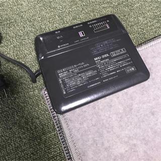ヒタチ(日立)の日立 ホットカーペット MHU-20DL 可変式 面積切替 正方形 180cm(ホットカーペット)