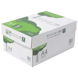 コピー用紙 A4 ホワイトコピー用紙 高白色 紙厚0.09mm 5000枚(その他)