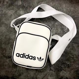 adidas - [アディダス オリジナルス] adidas 男女兼用 ミニバッグ ホワイト