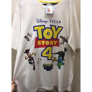 トイストーリー(トイ・ストーリー)の数日限定 新品 トイストーリー4 tシャツ 大きいサイズ toy story(Tシャツ/カットソー(半袖/袖なし))