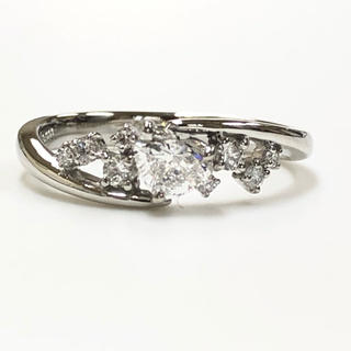 PT ハート ダイヤモンドリング