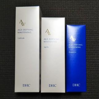 DHC - 🍀【未開封】DHC*薬用エイジアホワイトシリーズ3点セット化粧水・乳液・美容液