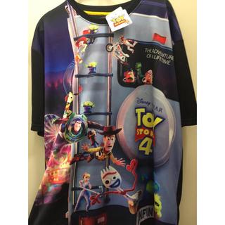 トイストーリー(トイ・ストーリー)の新品 トイストーリー4 tシャツ メッシュ 大きいサイズ (Tシャツ/カットソー(半袖/袖なし))