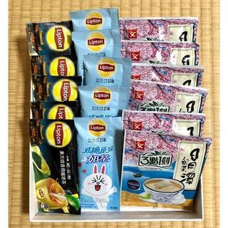 台湾【組み合わせ】3點一刻、立頓ミルクティー 16袋