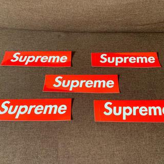 Supreme ステッカー 5枚セット!