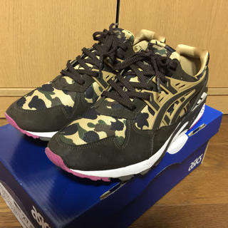 A BATHING APE - ASICS TIGER × BAPE GEL-KAYANO TRAINER 迷彩