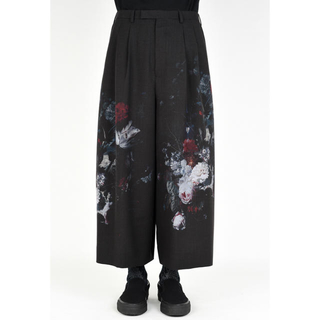 19ss 2TUCK CROPPED WIDE SLACKS