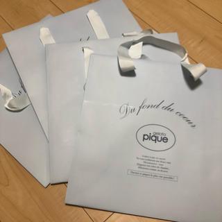gelato pique - gelato pique ジェラピケ 紙袋