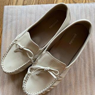アシックス(asics)のpedala 美品(ローファー/革靴)
