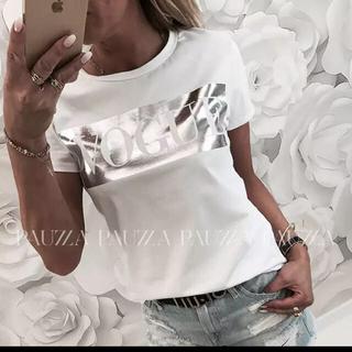 tシャツ VOGUE キラキラ (Tシャツ(半袖/袖なし))
