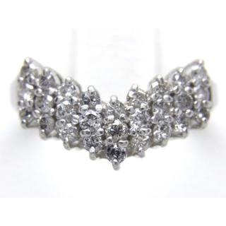 プラチナ ダイヤモンド 0.50ct リング(リング(指輪))