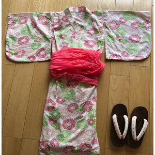 アンパサンド(ampersand)の浴衣 こども用 サイズ 100(甚平/浴衣)