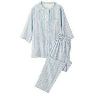 ムジルシリョウヒン(MUJI (無印良品))の無印良品  脇に縫い目のない細番手二重ガーゼ七分袖パジャマ (パジャマ)