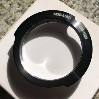 ライカ(LEICA)のライカM39、LマウントからMマウント (フィルムカメラ)