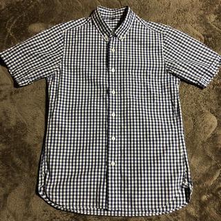 MUJI (無印良品) - 無印良品 ボタンダウン シャツ ギンガムチェック