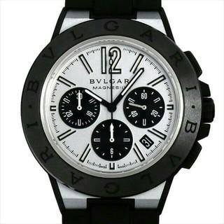 BVLGARI -  BVLGARI ルガリ ディアゴノ マグネシウム クロノグラフ メンズ 腕時計