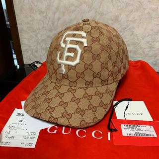 Gucci - GUCCI MLB サンフランシスコ キャップ レア 国内正規品