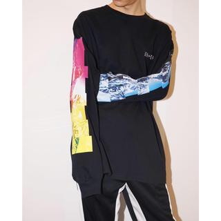 フィアオブゴッド(FEAR OF GOD)のENERロングスリーブTシャツ ロンT back country ブラック XL(Tシャツ/カットソー(七分/長袖))