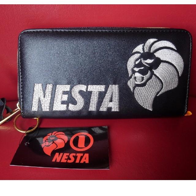 NESTA BRAND - NESTA長財布 ロゴ白刺繍の通販 by シエンタ283's shop|ネスタブランドならラクマ