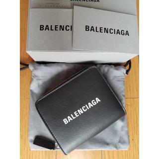 バレンシアガ(Balenciaga)のBALENCIAGA バレンシアガ エブリデイ コンパクト 財布 Black(折り財布)