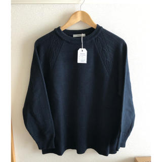 コモリ(COMOLI)のYASHIKI タスキ掛けニット size2(ニット/セーター)