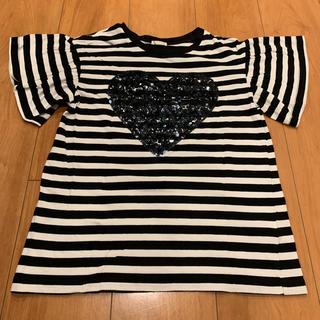 GU - GU★ボーダーTシャツ★150