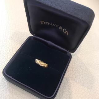 ティファニー(Tiffany & Co.)の美品❤️ティファニー リング 750 K18 (リング(指輪))