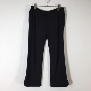 フォクシー(FOXEY)のナチュラルバイフォクシー パンツ ブラック サイズ40 ゆったり ストレッチ(カジュアルパンツ)