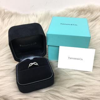 Tiffany & Co. - ティファニー インフィニティ ダイヤリング PT950