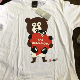 BEAMS - ビームス  くまモン コラボTシャツ